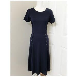 nanette NANETTE LEPORE navy blue dress